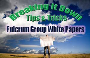 Download our Fulcrum Group White Papers for tech tips, how-to's, and other helpful info!