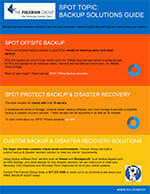 Backup Solutions Guide from The Fulcrum Group