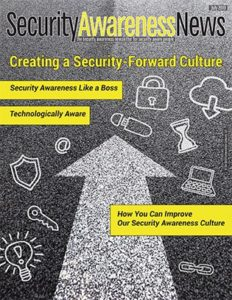 Click here for the latest Security Awareness Newsletter