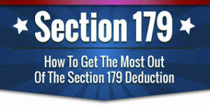 Use Your Section 179 Benefits