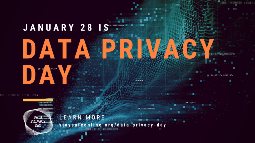Its Data Privacy Day January 28th