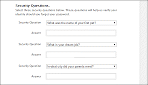 ok to lie on security questions