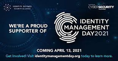 April 13, 2021 is Identity Management Day!