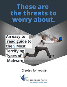 Fulcrum Group Educational Guide 9 Most Terrifying Types of Malware